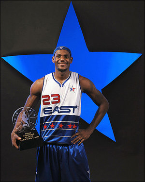 Lebron James All-Star MVP
