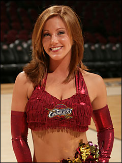 Amanda to represent the Cavalier Girls