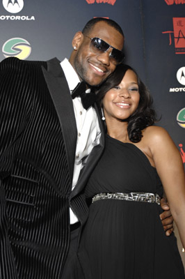 Lebron James and longtime girlfriend Savannah Brinson