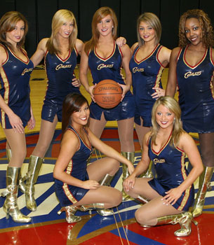 NBA dance team bracket