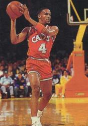 Ron Harper with the Cavaliers
