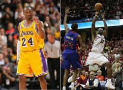 Lebron James or Kobe Bryant