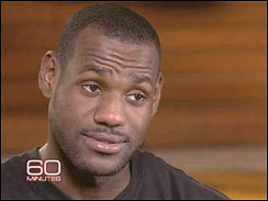 Lebron James on 60 Minutes