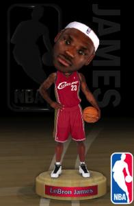 NBA Bobble head iPhone App