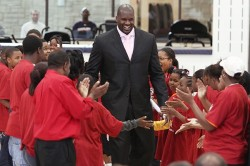 Shaquille O'Neal as a Cavaliers
